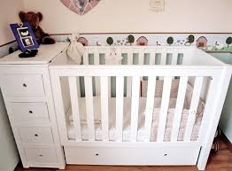 Cot Changing Table Quality 3 In 1 Cot Bed Changing Table Chest Of Drawers