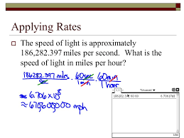 1 Light Second In Miles Chapter 3 Test Review Writing Equations Of Lines I Can State