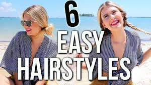 easy hairstyles for long hair youtube