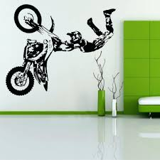 articles with wall art sticker quotes uk tag wall sticker art stunt bike motorbike x games mx wall sticker motocross dirt bike grapic creative vinyl art decal