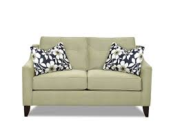 Klaussner Furniture Warranty Amazon Com Klaussner Attire Pear Audrina Loveseat 63 By 37 By 31