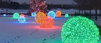 lighted sphere balls