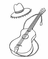 bluebonkers spanish guitar hat tassels simple objects