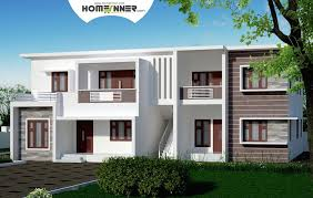 duplex home with two separate 2 bhk apartment design