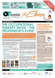 sep issue the occupational therapy show newspaper by closerstill