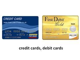money cards plastic money
