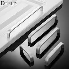 popular aluminum pull handle buy cheap aluminum pull handle lots dreld 1pc aluminum furniture handle door knobs cupboard kitchen pull handle furniture hardware puxador 64