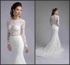 lace wedding dress with sleeves mermaid lace wedding dresses with sleeves biwmagazine