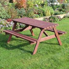 Picnic Table Frame 6 Seater Wooden Picnic Table A Frame Pine Picnic Bench Pub