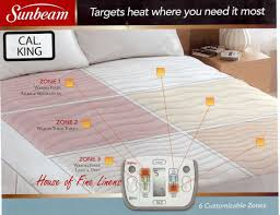 mattress sunbeam heated mattress pad queen finest sunbeam