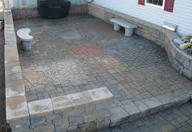 Patio Brick Pavers Brick And Paver Patio Designs Unique Hardscape Design Brick