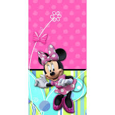minnie s bowtique minnie mouse bow tique plastic tablecover 1ct