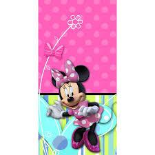 minnie s bowtique minnie mouse bow tique plastic tablecover 1ct