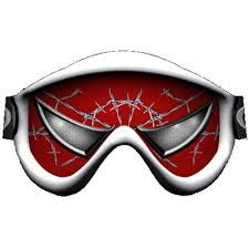 tinted motocross goggles spider man eyes ski dirt bike mx off road lens goggle sticker tint