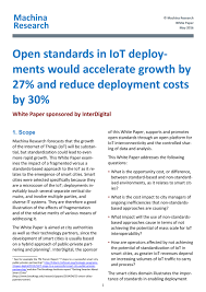 what is the process of writing a research paper open standards in iot deployments would accelerate growth by 27 open standards in iot deployments would accelerate growth by 27 and reduce deployment costs by 30 interdigital com