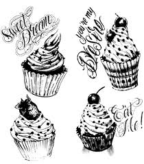 cupcakes vintage cup cakes coloring pages for adults justcolor