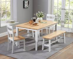 painted dining sets oak and white the great furniture trading