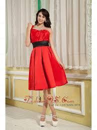 bridesmaid dress under 100 a line princess one shoulder satin