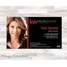 Keller Williams Business Cards Keller Williams Business Cards Real Estate Business Realtor