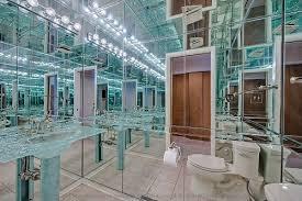 Mirrored Bathrooms 10 Baffling Bathrooms Hooked On Houses
