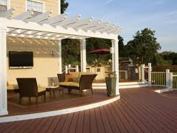 Backyard Awning Ideas Shading Your Deck Outdoor Design Landscaping Ideas Porches Deck