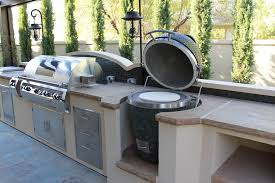 Backyard Bbq Las Vegas Built In Kamado 3 Jpg Backyard Kitchen Pinterest Kitchens