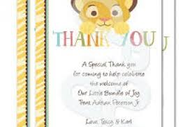 Thank You Cards For Baby Shower Gifts - baby shower thank you note for gift certificates gift cards money