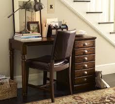 Small Desks For Small Spaces Printer U0027s Small Desk Set Pottery Barn