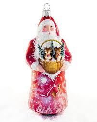 breen dearest claus with basket ornament