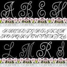 z cake toppers buy cake topper swirl script silver monogram cake toppers