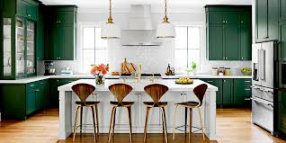 white kitchen cabinets with green countertops timeless kitchen trends that are here to stay better homes