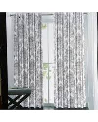 Light Silver Curtains Sale Tahari Window Curtain Panels 52 Inches By 96 Inches Set