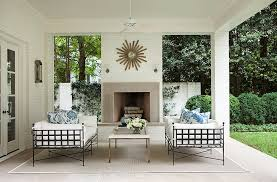 Suzanne Kasler Quatrefoil Border Indoor Outdoor Rug Inside Suzanne Kasler S Stunningly Serene Atlanta Home One
