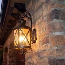matching outdoor wall and post lights outdoor wall lighting barn lights you ll love wayfair