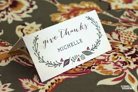 cards photo free printable place cards for thanksgiving