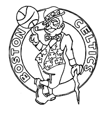 Celtics Coloring Pages celtics basketball coloring pages darach info