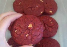 red velvet white chocolate chip cookies duncan hines