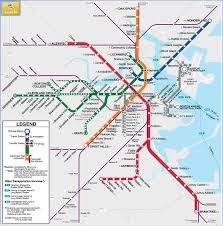 map of boston subway 17 best mbta images on boston beans and massachusetts