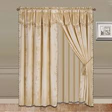 Valance And Curtains Curtain With Valance Amazon Com