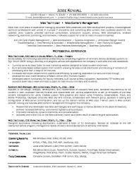 Sample Resume For Client Relationship Management by Download Network Technician Sample Resume Haadyaooverbayresort Com