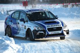 subaru rally snow subaru rally team canada triumphant at rallye perce neige