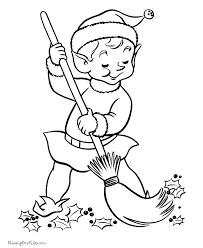 free printable coloring pages of elves santa s elves free printable coloring pages christmas