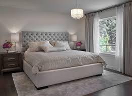 edmonton grey headboard bedroom transitional with gray upholstered