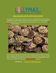 Chocolate Delivery Service Show Your Love With Our Gift Delivery Service Pdf Document Docslides