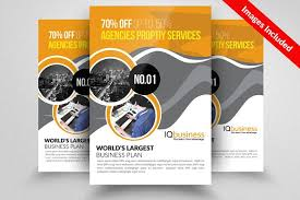 business flyer psd template flyer templates creative market