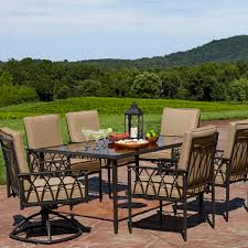 Lazy Boy Dining Room Furniture by La Z Boy Outdoor Dqun 7pc Quinn 7 Piece Dining Set Limited