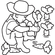 carrot coloring pages eliolera