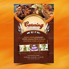 catering menu template flyer by owdesigns graphicriver