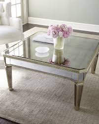 mirrored coffee table set comfy white living room armchair paired with luxury square glass