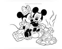 minnie holding balloons coloring kids coloring